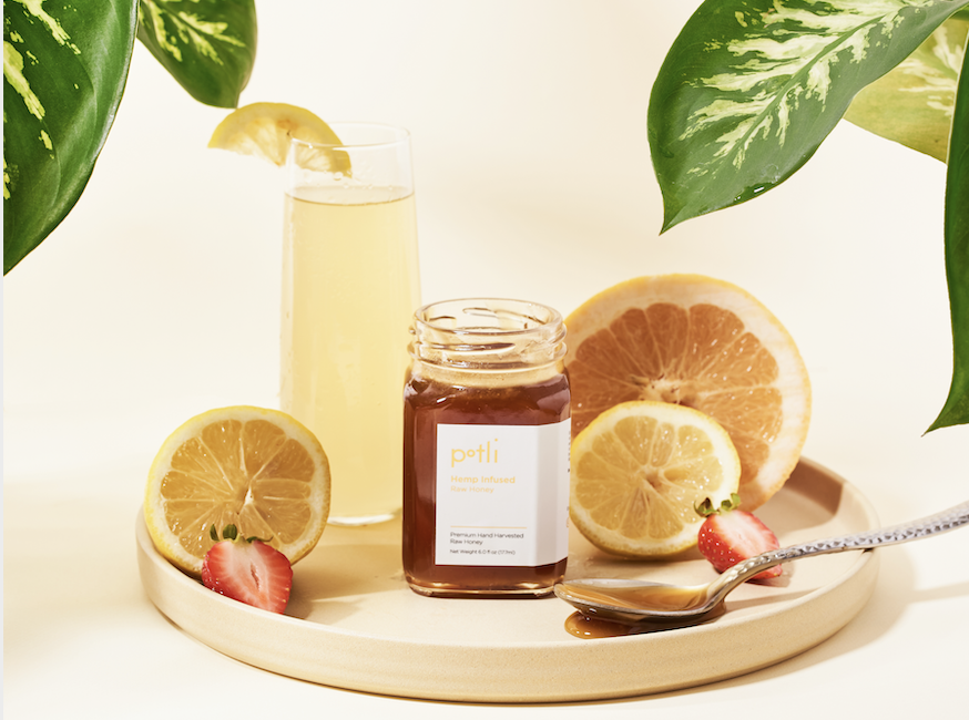 Raw CBD Honey by Potli