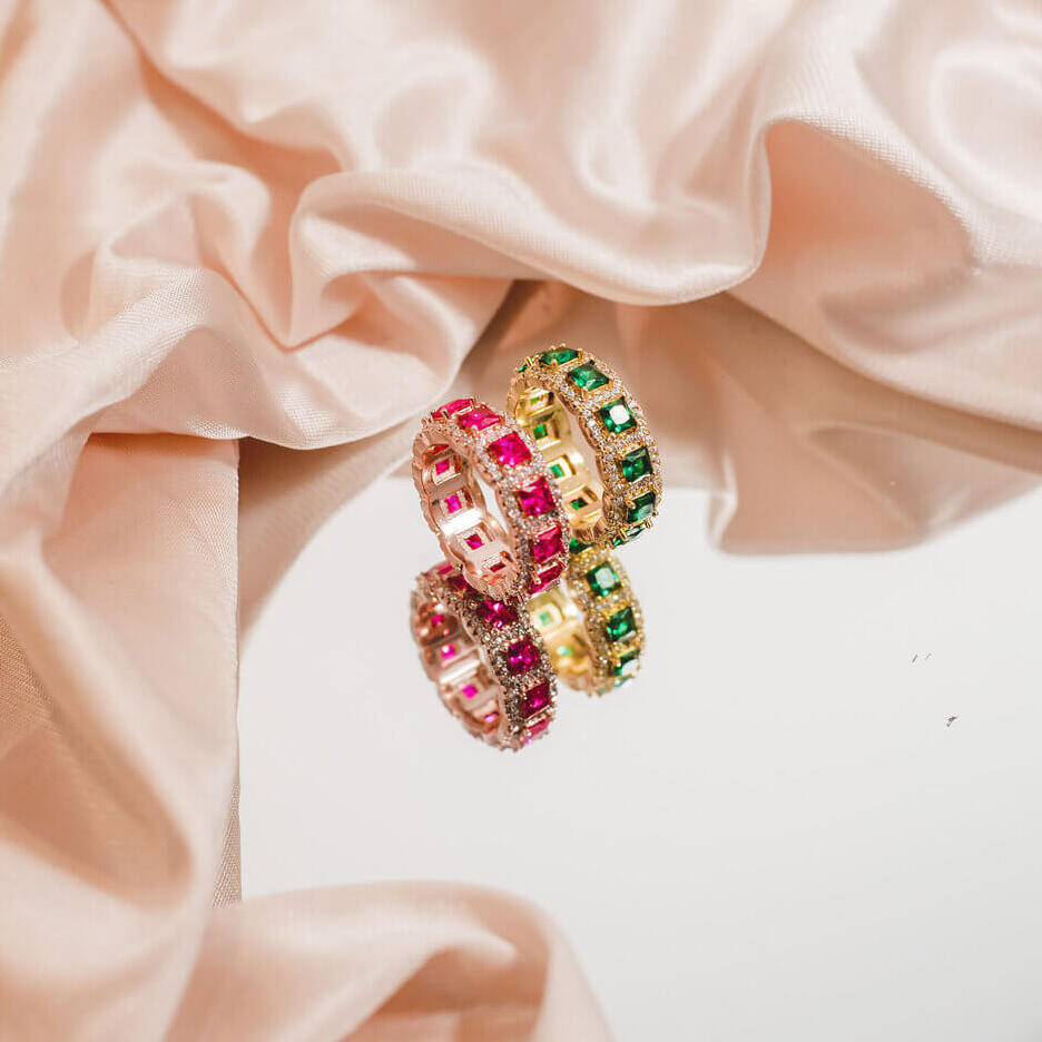The Gaudi Ring by Ora Ana