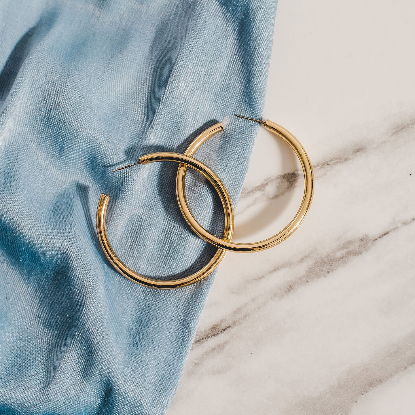The Statement Hoops by Ora Ana
