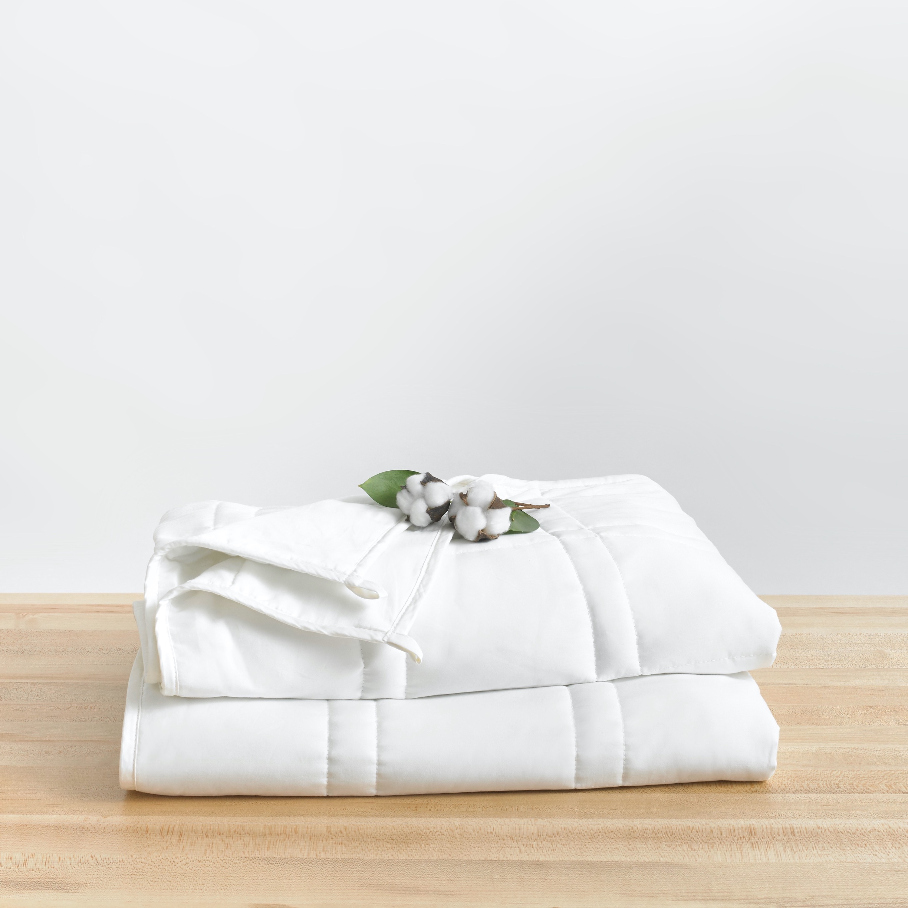 Queen/Full Fit · Cool Cotton Weighted Blanket · 15 or 20 lbs by Baloo Living