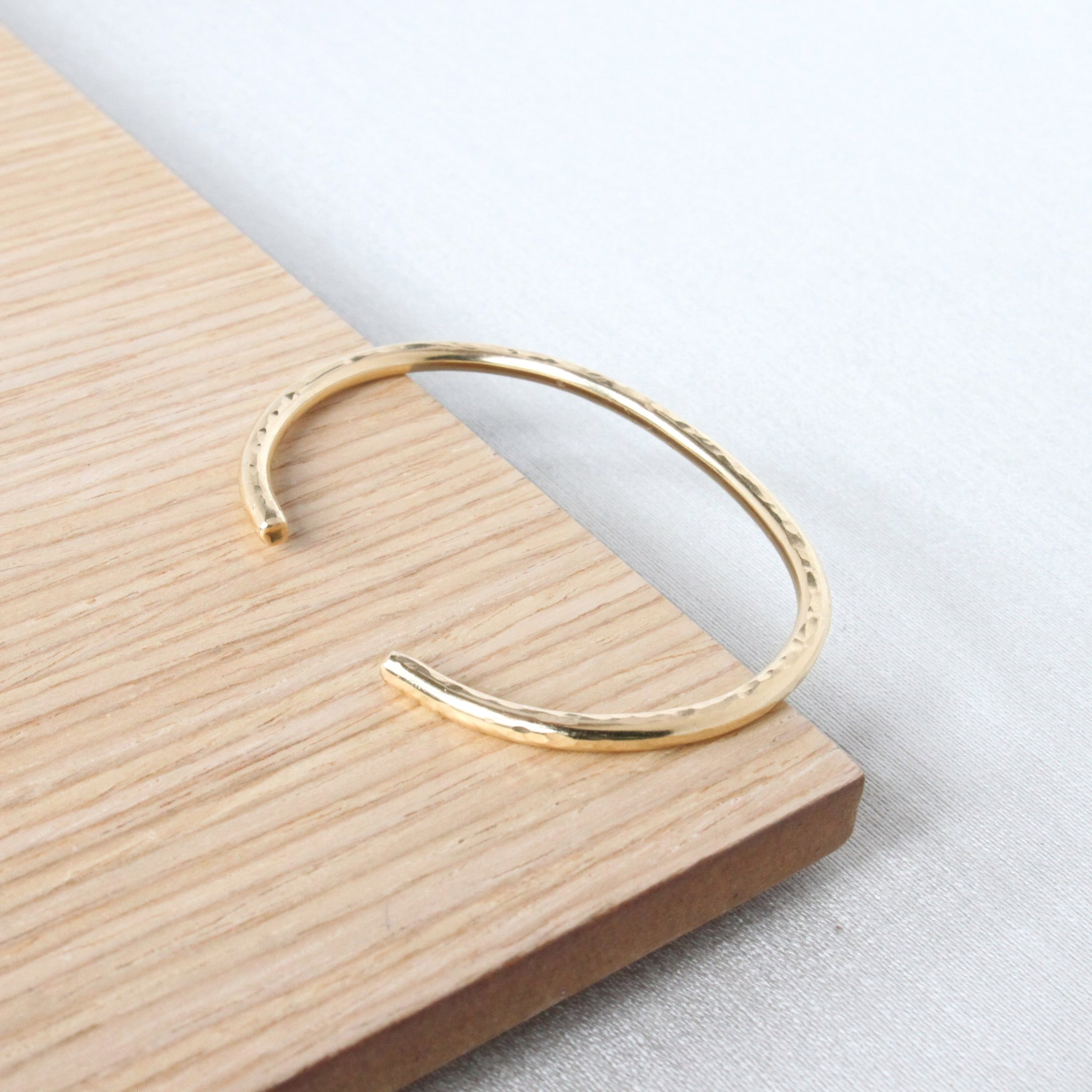 Golden Orbit Cuff Bracelet by Sara Patino Jewelry