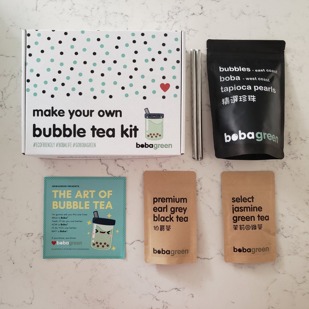 DIY Classic Bubble Milk Tea Kit by bobagreen
