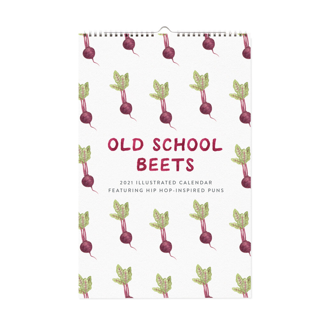 2021 Old School Beets Calendar by Amy Zhang