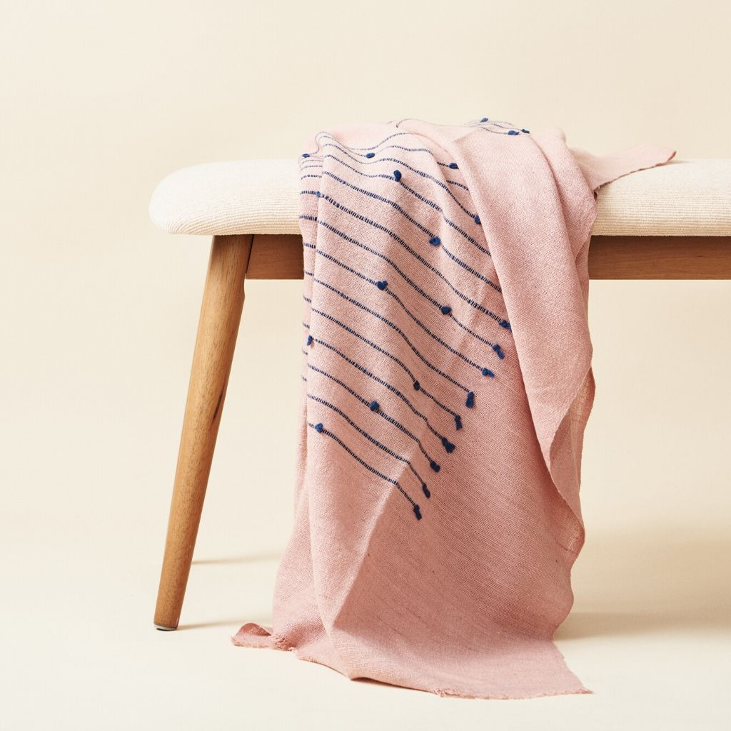 Rosewood Throw by Studio Variously