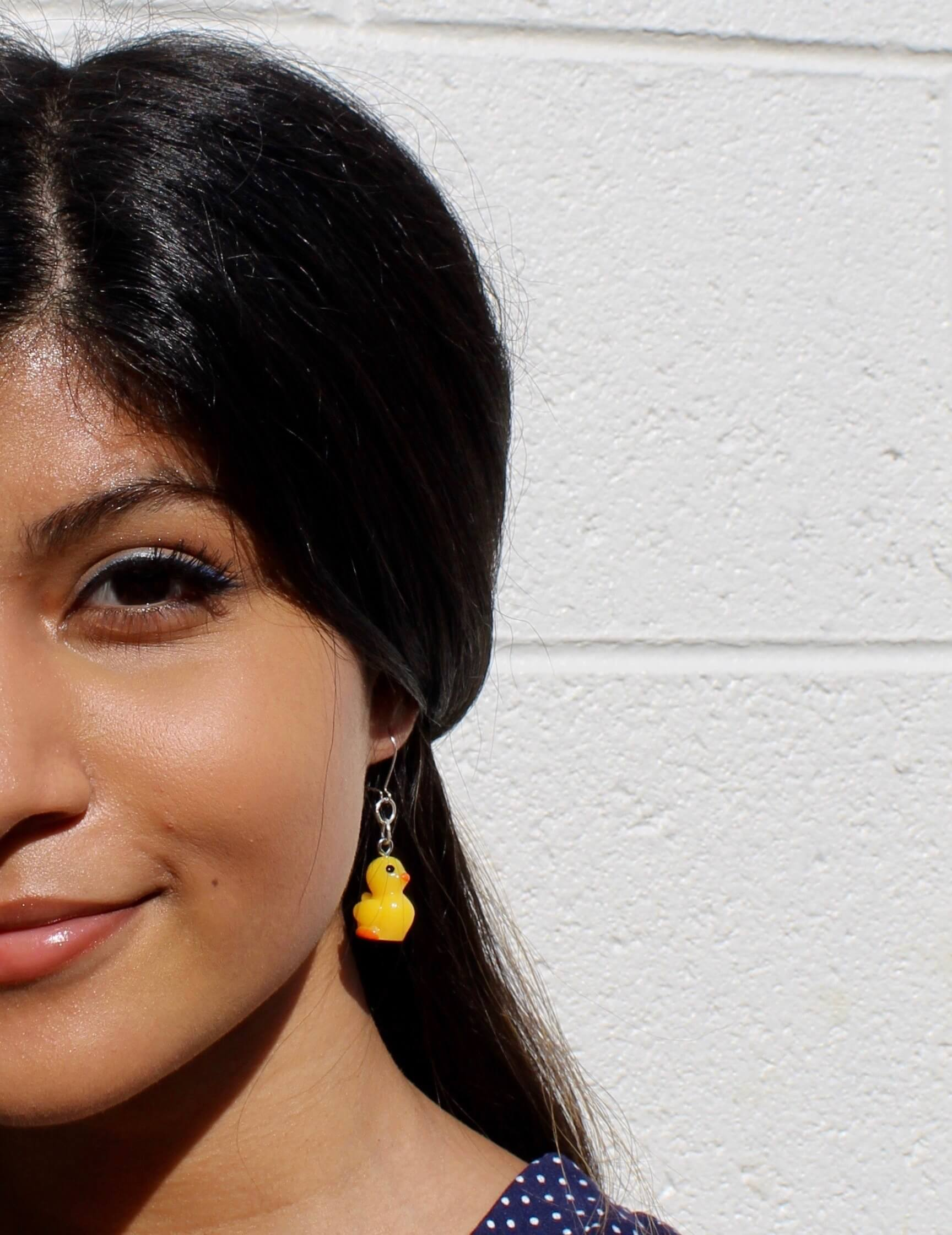 Duckie Earrings by Well Being Apparel