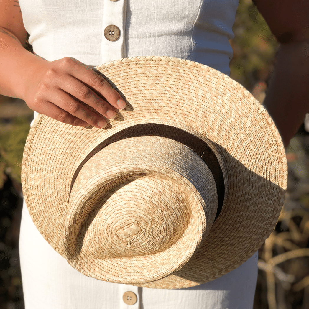 Woven Panama Straw Hat by Woven Futures