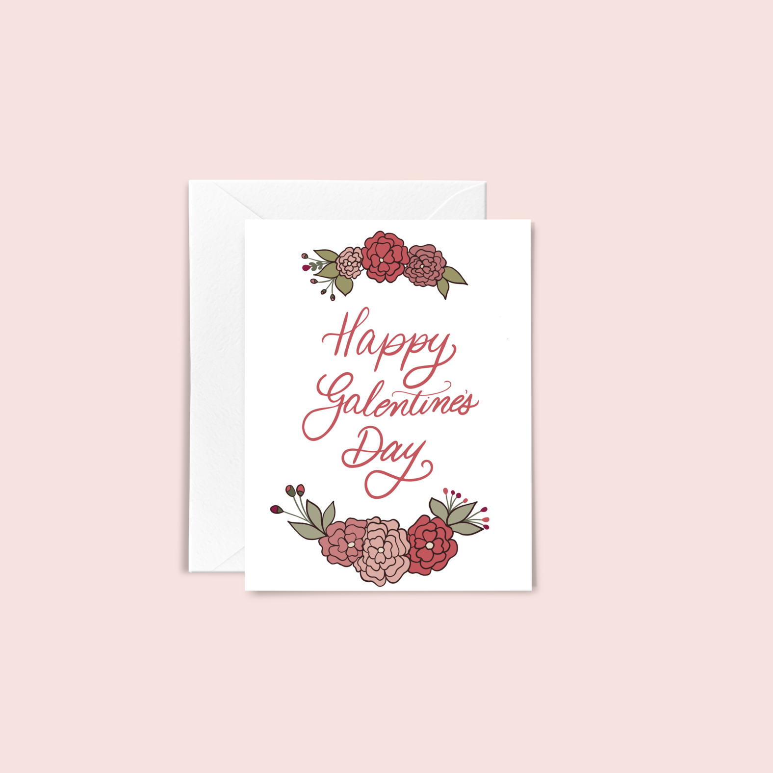 Happy Galentine's Day Card  by JJ Paperie & Company