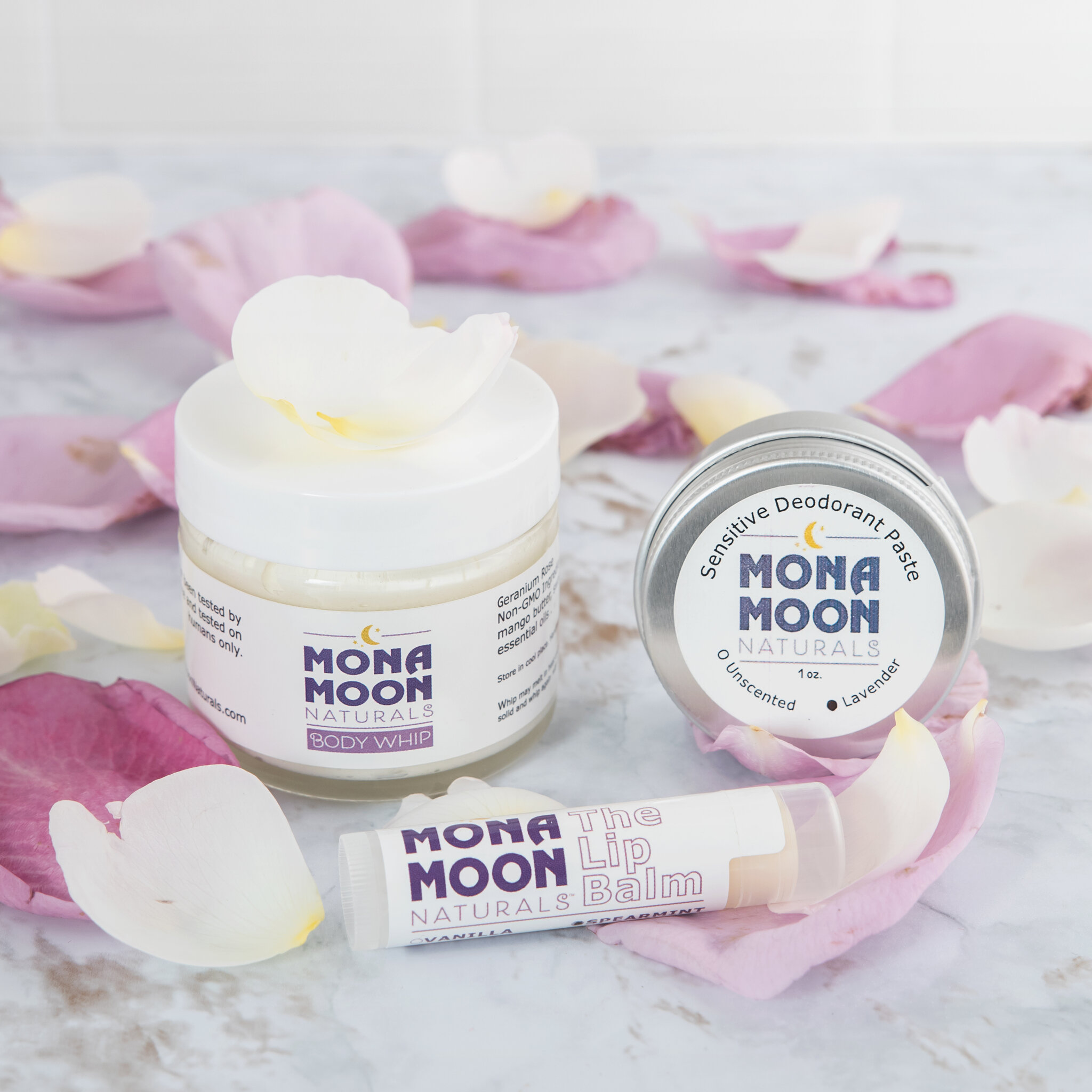 Sample Gift Pack by Mona Moon Naturals