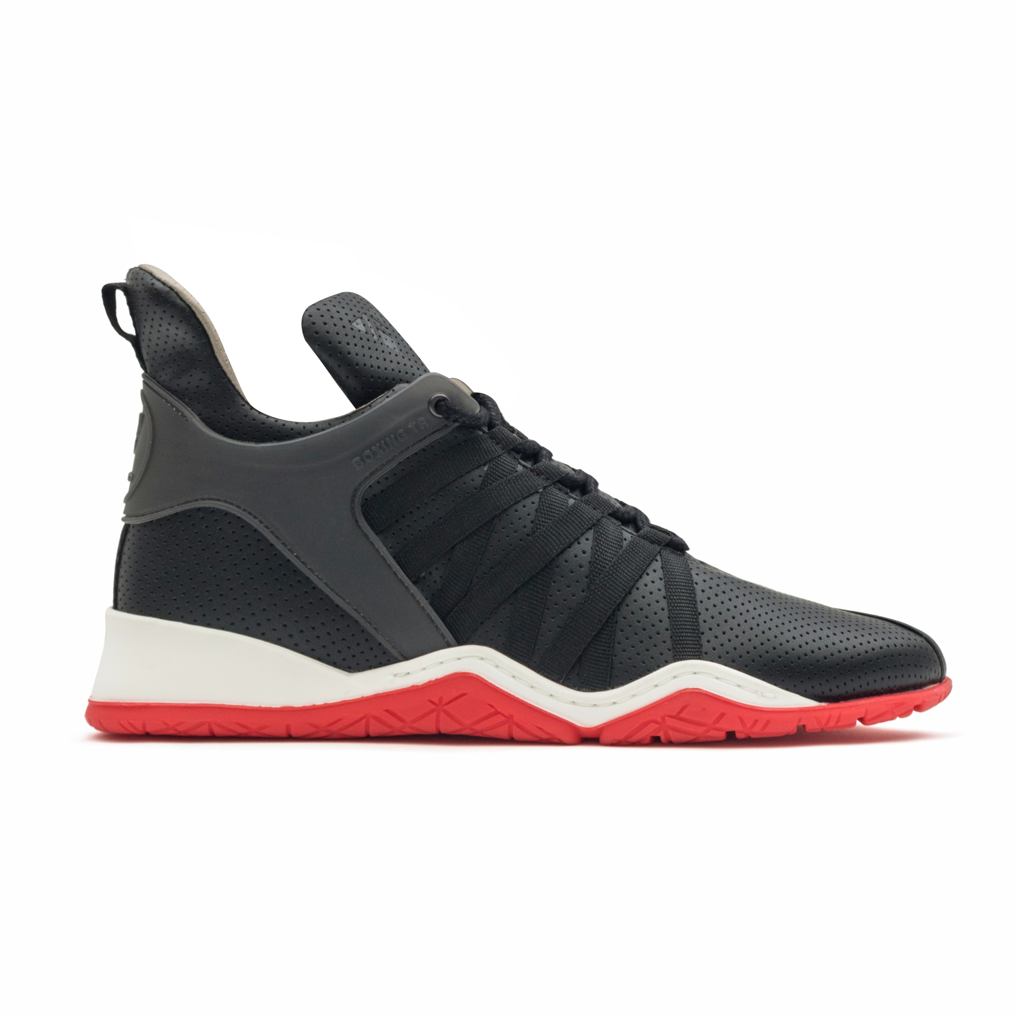 Vobyo BX TR Sneaker in Vegan Black/Red by Vobyo