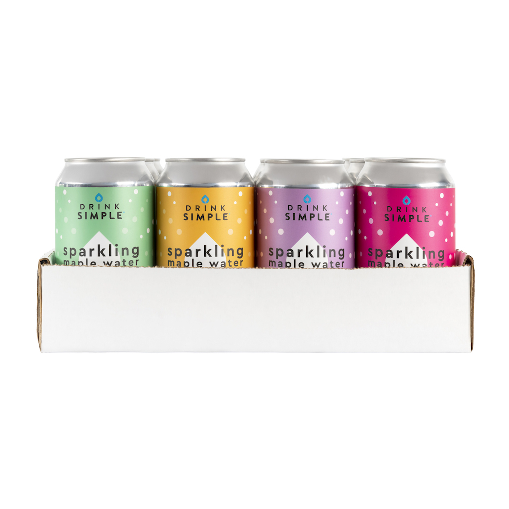 Sparkling Maple Water Variety Pack by Drink Simple